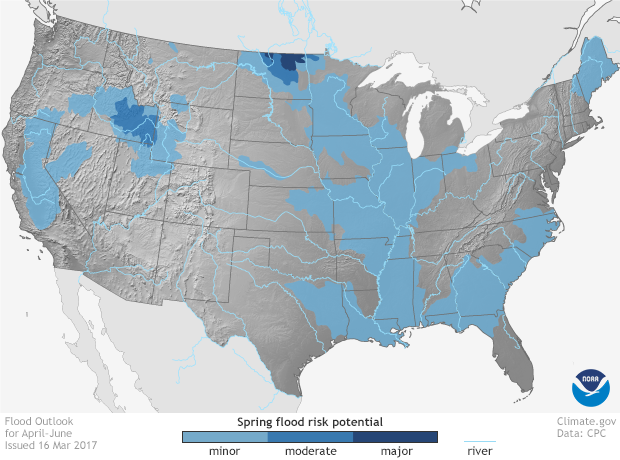 Spring Flood Risk Potential