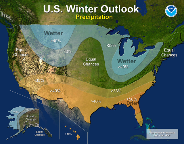 Winter Precipitaion Outlook